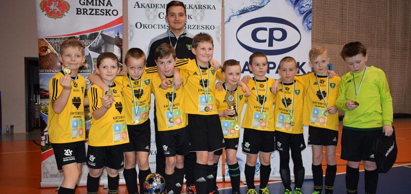 GKS Katowice wygrywa niedzielny turniej CANPACK Okocimski – rocznik 2009