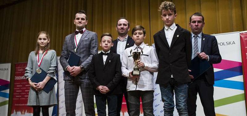 Pierwszy zespół młodzików najlepszą drużyną roku 2017!
