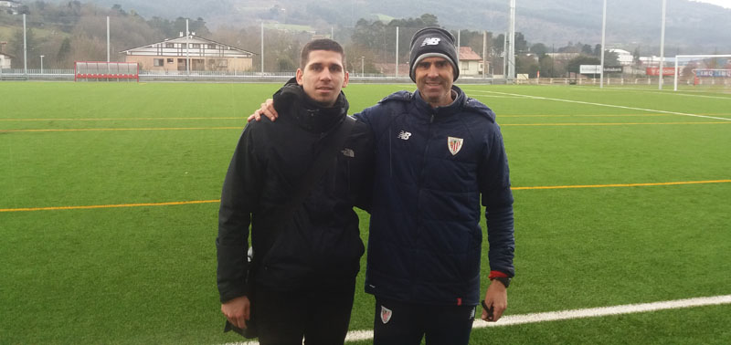 Staż trenerski Rufina Wójtowicza w Athletic Bilbao