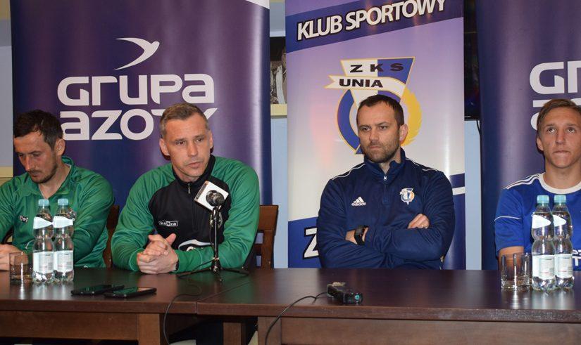 Konferencja po meczu Unia Tarnów – CANPACK Okocimski Brzesko