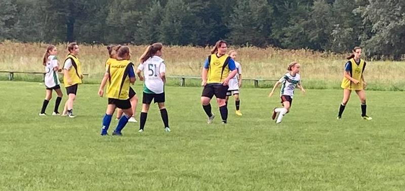 Akademia: Wygrana dziewcząt w meczu sparingowym