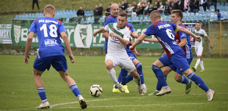 Skrót z meczu z BKS Bochnia