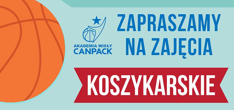 Akademia CANPACK Okocimski Brzesko wspiera koszykówkę.